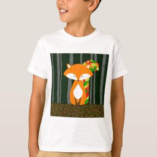 Nursery Automn Fox Design T-Shirt