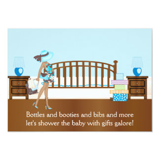 Nursery Baby Shower Invitation (BAA)