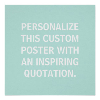 Nursery Decor, Personalized Quote, Custom Posters