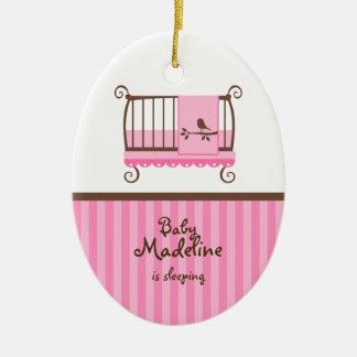 Nursery Door Hanger Ceramic Ornament
