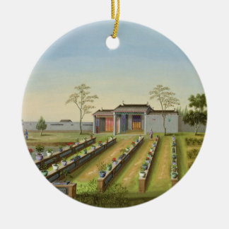Nursery Garden, c.1820-40 (w/c on paper) Ceramic Ornament