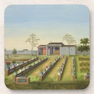 Nursery Garden, c.1820-40 (w/c on paper) Beverage Coasters