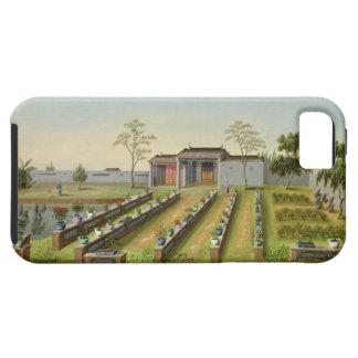 Nursery Garden, c.1820-40 (w/c on paper) iPhone SE/5/5s Case