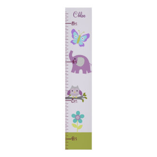 Nursery  Growth Chart Poster