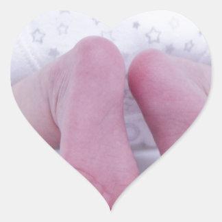 Nursery Infant Children Expecting Baby Shower Heart Sticker