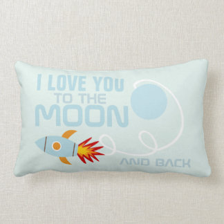 Nursery Love You To The Moon And Back Cushion Pillows
