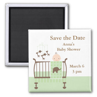 Nursery (Neutral) 2 Inch Square Magnet