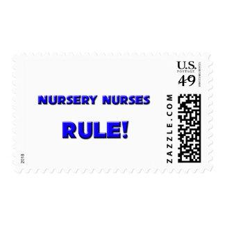 Nursery Nurses Rule! Postage