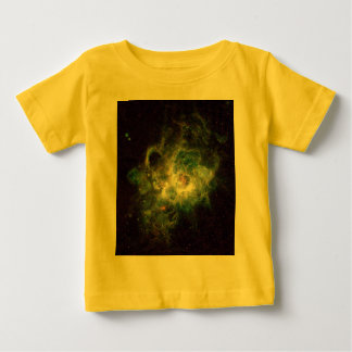 Nursery of stars in a spiral galaxy baby T-Shirt