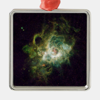 Nursery of stars in a spiral galaxy metal ornament