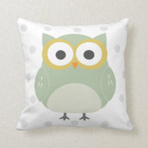 nursery owl pillow