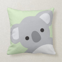 Nursery Pillow Children Room Decor Koala Bear