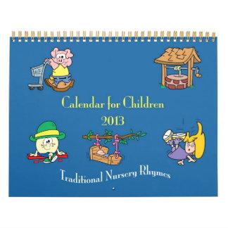 Nursery Rhyme Calendar 2013