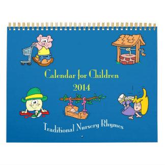 Nursery Rhyme Calendar 2014