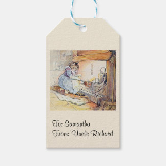 Nursery Rhyme Cat Personalized Gift Tags