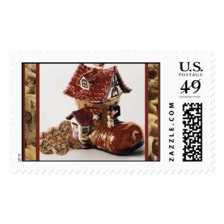 Nursery Rhyme Cookie Jar Postage Stamps