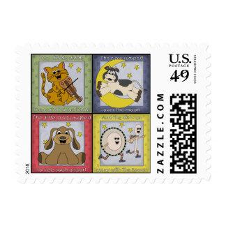 Nursery Rhyme Postage Stamp