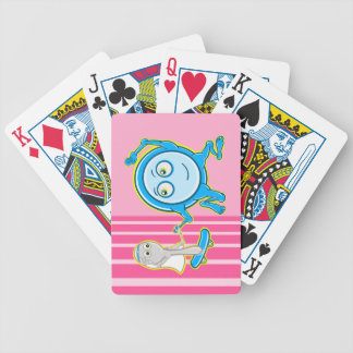 Nursery Rhyme The Dish Ran Away With The Spoon Bicycle Playing Cards