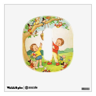 Nursery Rhyme Vintage Children Baby Room Decor Wall Decal