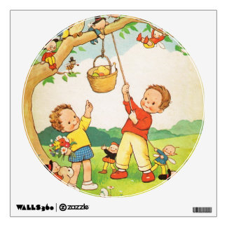 nursery rhymes wall decals wall stickers zazzle