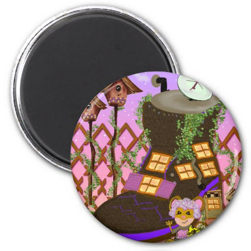 Nursery Rhymes 2 Inch Round Magnet