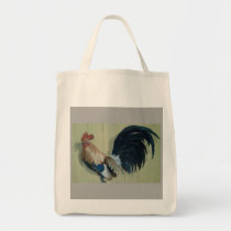 Nursery Rooster Tote Bag