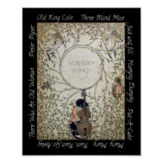 Nursery Song Poster