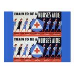 Nurses Aid Postcard