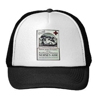 Nurse's Aide Trucker Hats