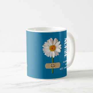 Nurses are all heart. Smiling Daisy Gift Mugs