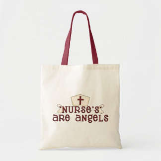 Nurses Are Angels Bag
