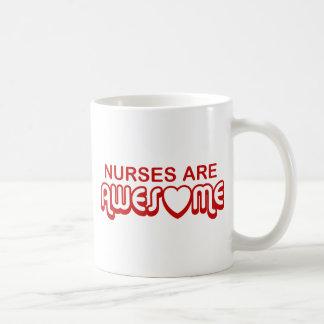 Nurses are Awesome Coffee Mug