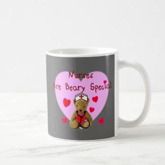 Nurses are BEARY Special  Teddy Bear Gifts Coffee Mug