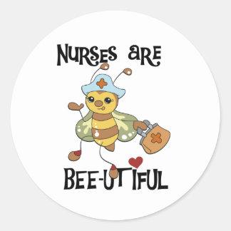 Nurses are Beautiful Stickers