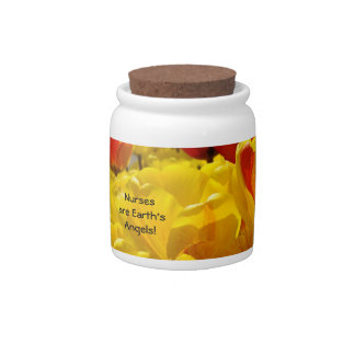 Nurses are Earth's Angels gifts Nurse Week Events Candy Jar