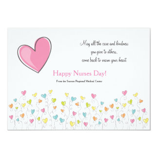 Nurses Are Full Of Heart Card