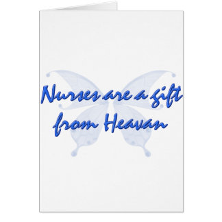 NURSES ARE GIFTS CARD