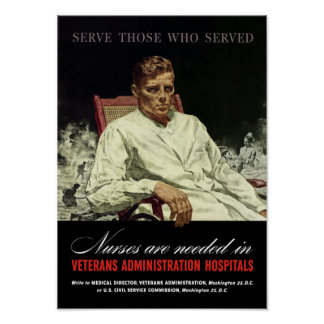 Nurses Are Needed -- WWII VA Posters