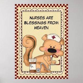 Nurses are poster