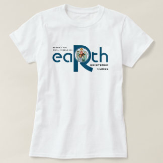 Nurses are Real Angels on Earth Gift T-Shirts