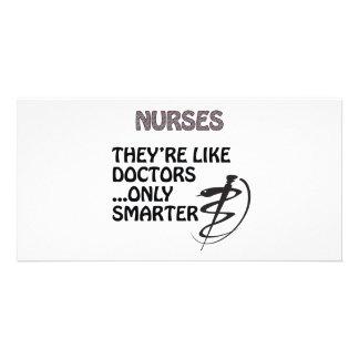 NURSES  ARE SMARTER THAN DOCTORS CARD