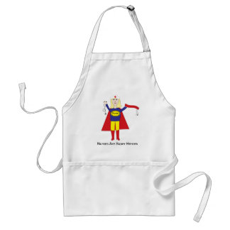 Nurses Are Super Heroes (Blonde) Apron