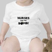 Nurses Are The Bomb! Tees