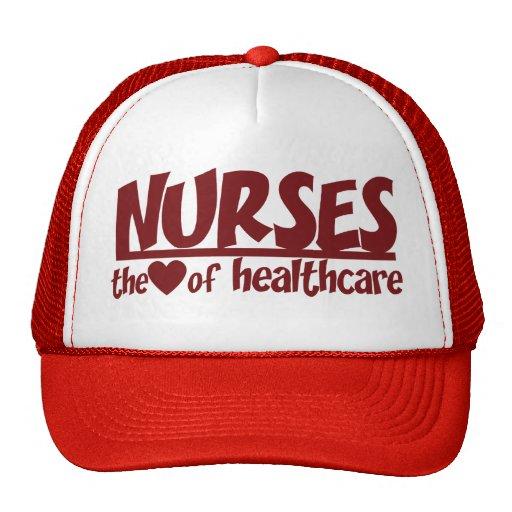 Nurses are the Heart of Healthcare Trucker Hat