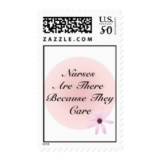 Nurses Are There Because They Care Postage