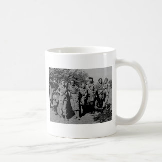 Nurses Beside Jeep WWII Coffee Mug