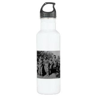 Nurses Beside Jeep WWII Water Bottle