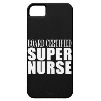 Nurses Birthday Party Board Certified Super Nurse iPhone 5 Cover