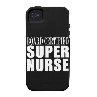 Nurses Birthday Party Board Certified Super Nurse Vibe iPhone 4 Cases