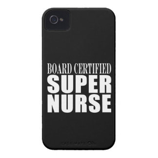 Nurses Birthday Party Board Certified Super Nurse iPhone 4 Cases